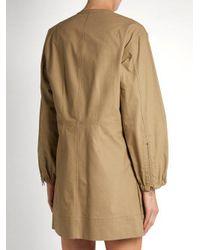 Isabel Marant - Natural Telka Cotton Dress - Lyst