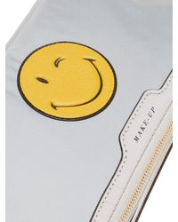 Anya Hindmarch Gray Wink Make-up Pouch