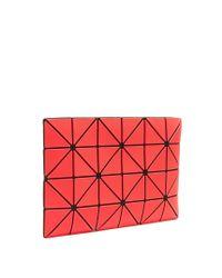 Bao Bao Issey Miyake | Red Diamond Prism Clutch | Lyst