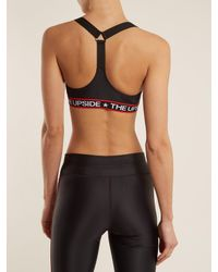 The Upside Black Star Fast Alex Performance Bra