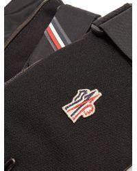 Moncler Grenoble - Black Technical Fleece-lined Gloves for Men - Lyst