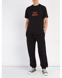 T-shirt en jersey de coton à imprimé Cafe Tokyo Vetements pour homme en coloris Black