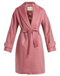 Max Mara Pink Nevada Coat
