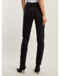 Balenciaga Black Tube Jeans