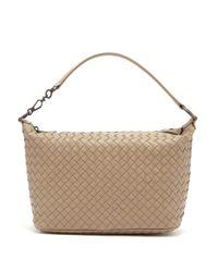 Bottega Veneta Multicolor Ciambrino Intrecciato Leather Shoulder Bag