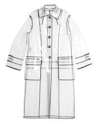Miu Miu Multicolor Single-breasted Raincoat