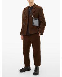 Sac bandoulière en PVC et toile de coton Small Rick Owens Drkshdw pour homme en coloris Black