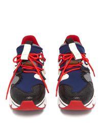 Baskets en néoprène Red Runner Christian Louboutin pour homme