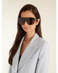 Tom Ford Black Angus Shield Sunglasses