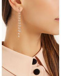 Jacquie Aiche - Metallic Diamond Rose-gold Single Earring - Lyst