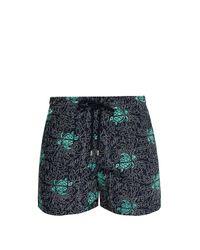 Vilebrequin Multicolor Mistral Turtle Embroidered Swim Shorts for men