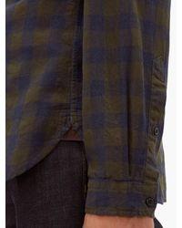 メンズ Oliver Spencer New York Special コットンブレンドシャツ Multicolor