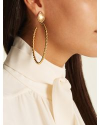 Sylvia Toledano - Metallic Quartz And Gold-plated Earrings - Lyst