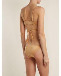 Melissa Odabash Metallic Indonesia Wrap Bikini