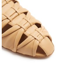 The Row - Multicolor Capri Leather Slides - Lyst