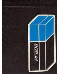 Prada - Multicolor Logo Plaque Nylon Cross Body Bag for Men - Lyst
