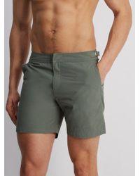 Orlebar Brown - Multicolor - Bulldog Mid Length Swim Shorts - Mens - Grey for Men - Lyst