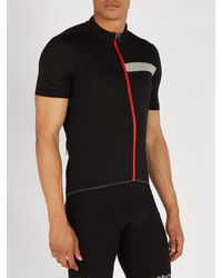 Ashmei Black Technical Short Sleeved Cycling Jersey for men