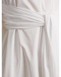Elizabeth and James - White Oak Tie-front Cotton Dress - Lyst