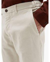 メンズ Altea Dumbo ブラッシュドコットンブレンド スリムパンツ Multicolor