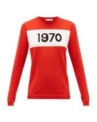 Bella Freud 1970 ウールセーター Red