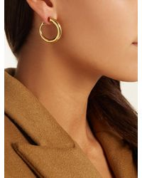 Charlotte Chesnais - Metallic Monie Gold-plated Clip-on Earrings - Lyst