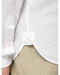 メンズ Oliver Spencer Clerkenwell オーガニックコットンシャツ White
