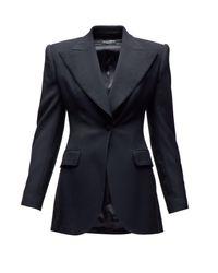 Dolce & Gabbana テーラード ウールブレンド シングルジャケット Multicolor