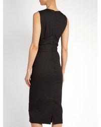 Sportmax - Black Brunico Dress - Lyst