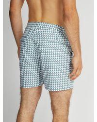 Orlebar Brown - Green Short de bain à imprimé Aruba Bulldog for Men - Lyst