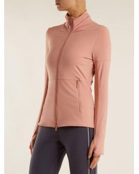Adidas By Stella McCartney Multicolor Essential Mid-layer Performance Jacket