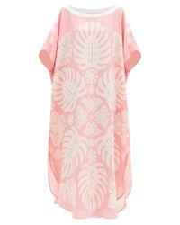 Robe tunique en soie The Taula Hester Bly en coloris Pink