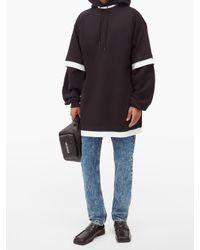 メンズ Balenciaga レイヤード コットンtシャツ Black