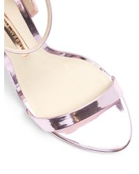 Sophia Webster - Pink Chiara Butterfly-wing Leather Sandals - Lyst