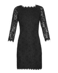 Diane von Furstenberg - Black Zarita Dress - Lyst