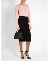 Altuzarra Black Gladys Knit Skirt