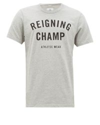 メンズ Reigning Champ コットンtシャツ Multicolor