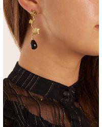 Aurelie Bidermann - Metallic Vitis Gold-plated Drop Earrings - Lyst