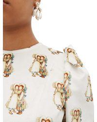 Robe en velours de coton à imprimé Holly Hobbie BATSHEVA en coloris Multicolor