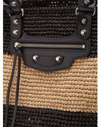 Balenciaga Black Panier L