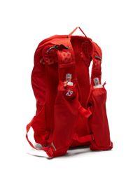メンズ Salomon Agile 12 テクニカルバックパック Red