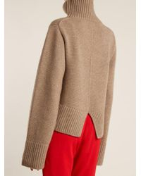 Khaite - Natural Wallis High-neck Cashmere Sweater - Lyst