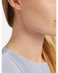 Loren Stewart - Metallic Diamond, Topaz, Opal, Pearl & Yellow-gold Earring - Lyst