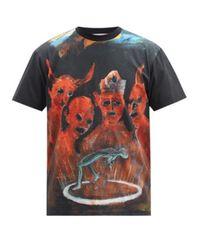 メンズ Walter Van Beirendonck X Pablo Iglesias Prada コットンtシャツ Multicolor