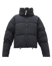 Veste matelassée de duvet Mont Blanc CORDOVA en coloris Black