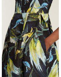 Erdem Multicolor Alana Textured Dress