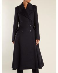 Gabriela Hearst - Blue Cantwell Double-breasted Cashmere Coat - Lyst