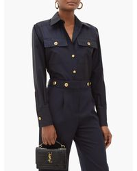 Givenchy コットンポプリンシャツ Blue