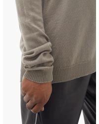 Rick Owens Drkshdw Vネック ウールセーター Multicolor