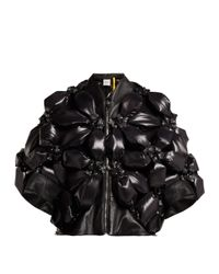 6 Moncler Noir Kei Ninomiya フラワー パデッドジャケット Black